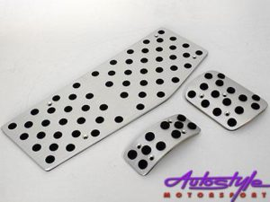 VW Mk6 Evo Pedals with Foot Rest-0