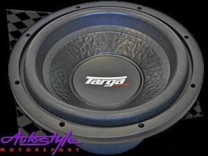 """Targa 12"""" 4ohm DVC Subwoofer - 650rms x 2-0"""