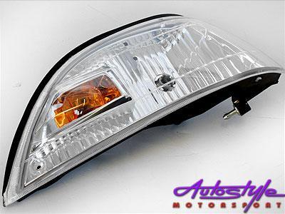 Toyota E8E9 Twincam Crystal Parklights