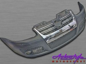 Golf 5 R-line Front Bumper Kit with Foglights-0