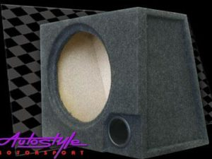 "10"" Single Subwoofer Enclosure with port-0"