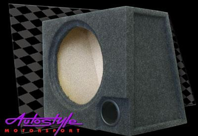 10″ Single Subwoofer Enclosure with port