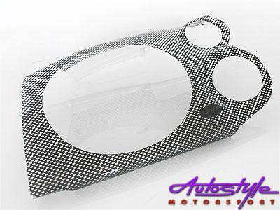 Nissan Hardbody/GWM '01up Carbon Headlight Shields-0
