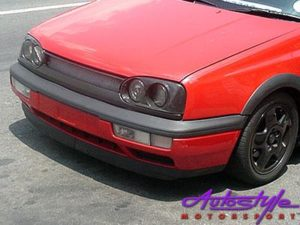 VW Golf MK3 Replacement Plastic Front Bumper including Spoiler