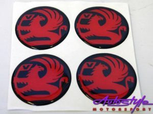 Wheel Decal Stickers for Vauxhaul (set of 4) -0