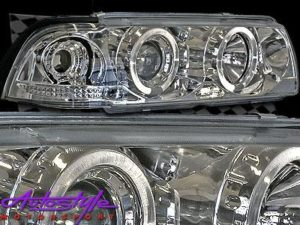 Chrome Angel Eye Headlights-0