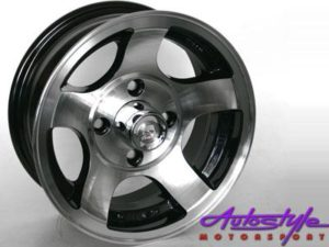 "13"" A/Line BZR 4/114 Alloy Wheels-0"