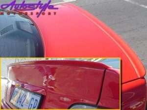 Flat Lip Plastic Bootspoiler suitable to fit E36-0