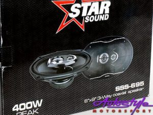 Starsound 6X9 500w 4 Way Speakers-0