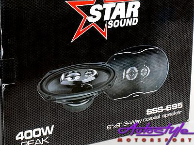 Starsound 6X9 500w 4 Way Speakers-0