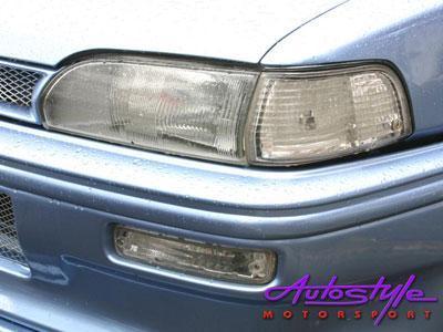 "Toyota E8E9 ""Baby Camry"" Crystal Bumper Indicators"