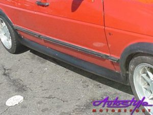 Vw Golf Mk2 Round Type Side Skirts -0