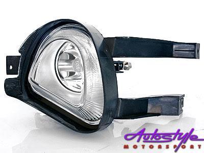 Corsa Front Bumper Foglights