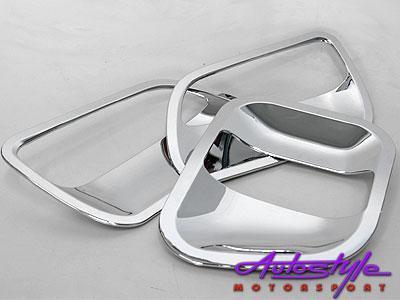 Toyota Quantum Door handle Chrome scratchplates