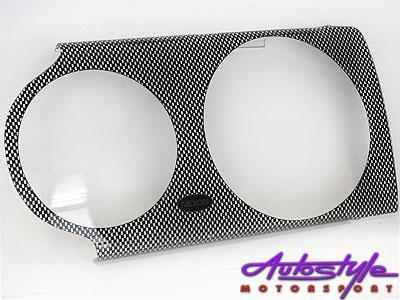 Vw Golf Mk1 Carbon Headlight Shields-0