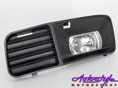 Polo 97-02 Spots With Vented Grill