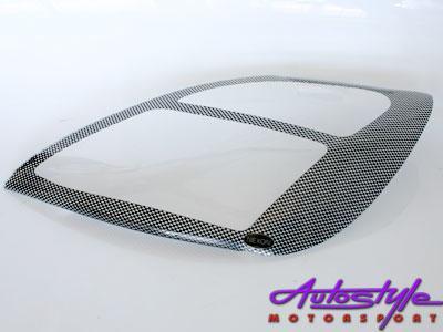 Ford Fiesta 2003-05 Carbon Headlight Shields
