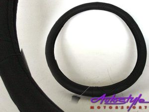 NX Steering Wheel Covers Black-0