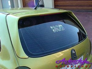 Opel Corsa B Roofspoiler with Brakelight