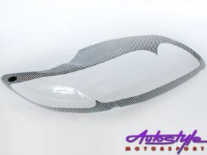 Toyota Corolla 2007+ Carbon Headlight Shields-0