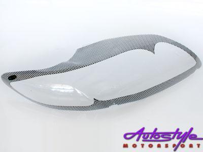 Toyota Corolla 2007+ Carbon Headlight Shields