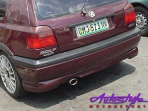 VW Golf MK3 Rear Bumper Spoiler-0