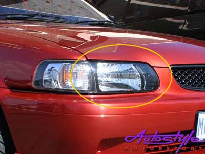 Tazz New 2000 up Replacement Headlights Right Hand Side