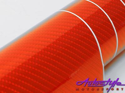 Carbon Fibre Red Exterior 75 X 100cm