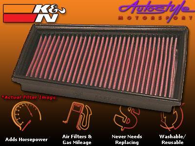 K&N Airfilter for Renault Megane DSL