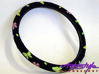Flower Steering Wheel Cover