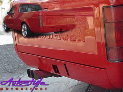 VW Caddy Bakkie Rear Spoiler