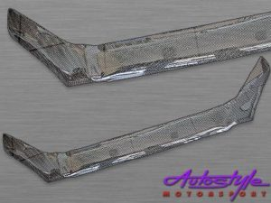 Carbon Look Bonnet Shield for Hyundai Tucson-0