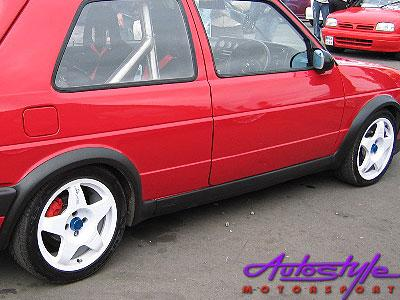 Vw Golf Mk2 Plastic Wheel Arch Kit