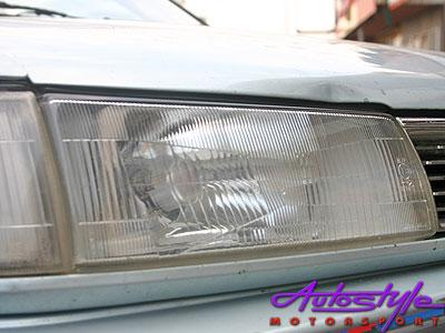 E8E9  Twincam 89-93 Replacement Headlight (left)