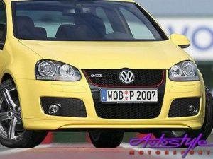 VW Golf 5 Gti Front Bumper Excluding Spots-0