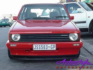 VW Golf Mk1 Single Debadged Grille-0