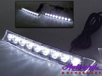 9 LED DRL Ice Fog Lamps