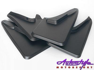 Golf Mk1 Black Mudflaps (set of 4)