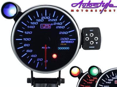 """Autogauge 4"""" Organic LED Speedometre-0"""