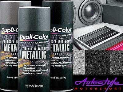 Duplicolor Textured Metallic Coating