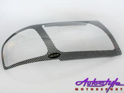 Mazda Drifter 2005+ Carbon Headlight Shields