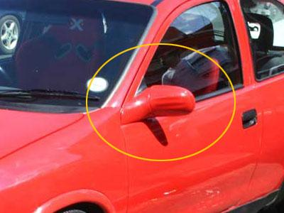 Corsa Replacement Right Side Mirror (manual) -0