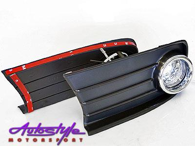 Toyota Tazz 2000up Foglights (chrome surrounds)