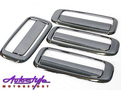 NX Titanium Look Door Handle Covers for Toyota Ta-0