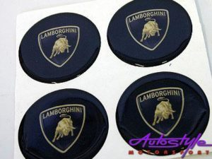 Wheel Decal Stickers for Lambo (set of 4) -0