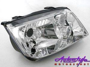 Jetta Mk4 Replacement Headlight with Fog LH-0