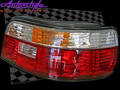 Toyota E8E9 Conquest Semi Clear Crystal Tailights