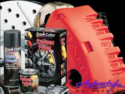 Duplicolor Caliper Paint Red Kit