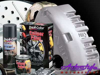 Duplicolor Caliper Paint Silver Kit