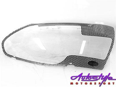 Ford Bantum 09up Carbon Headlight Shields